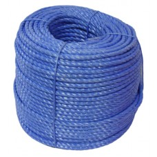Polypropylene Rope, 10mm - blue coloured