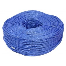 Polypropylene Rope, 6mm - blue coloured