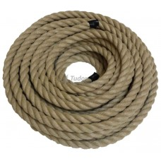 Poly Hemp Rope, 24mm x 27.5m
