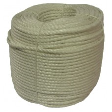 Polypropylene Rope, 10mm - white coloured