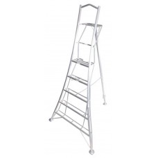 Henchman Professional Tripod Platform Step Ladder c/w adjustable legs