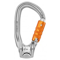 Petzl Rollclip Z triact lock pulley carabiner