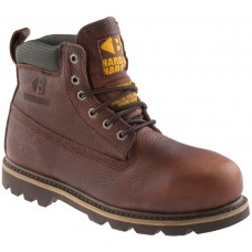 Buckler Waterproof Brown Welted Safety Boot