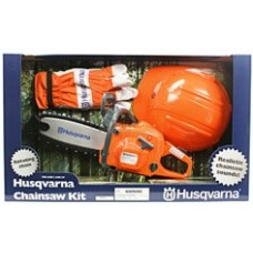 Husqvarna Toy Chain Saw Kit c/w PPE Kit