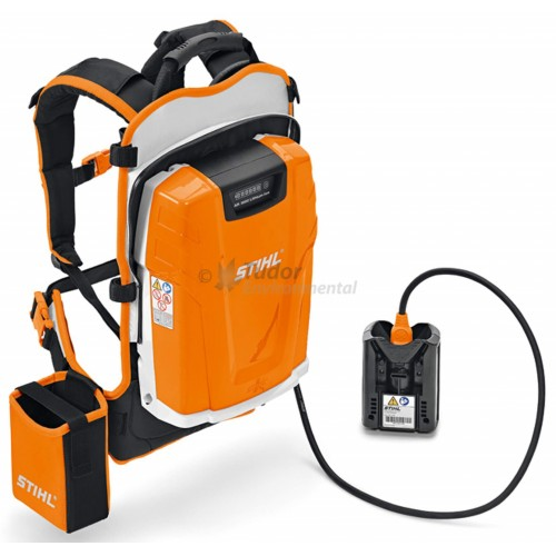 stihl lithium ion ar2000 backpack rechargeable battery high power. Black Bedroom Furniture Sets. Home Design Ideas