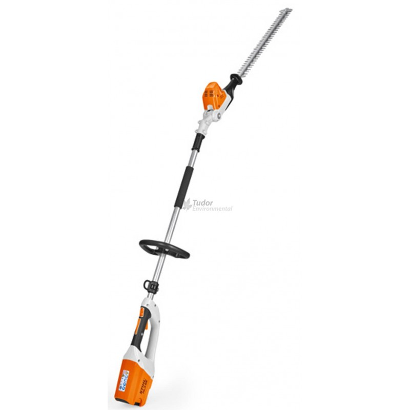 stihl hla65 cordless battery long reach hedge trimmer. Black Bedroom Furniture Sets. Home Design Ideas