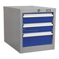 Triple Drawer Unit