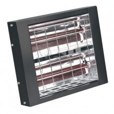 Sealey IWMH3000 Infrared Quartz Heater -Wall Mounting 3000W/230V